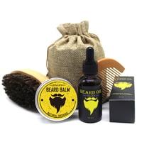 Men's Mustache Cream Beard Oil Kit