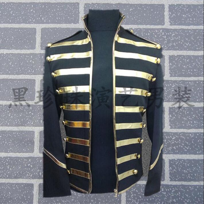 4c2a07797 Blazer El Terno Trajes Del Cantantes De Homme Estilo ¡coolLos Etapa Para  Danza Ropa Negro Hombres Vestido La Sequin Chaqueta Masculinos ALq5R34j