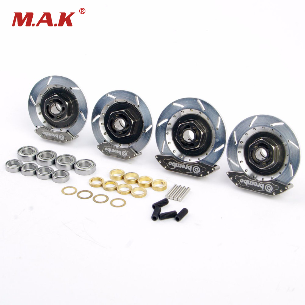 1/10 RC Car Model Accessory Toys Aluminum Alloy Wheel Rim Brake Disc HSP 00145S For RC On Road Racing Car Model