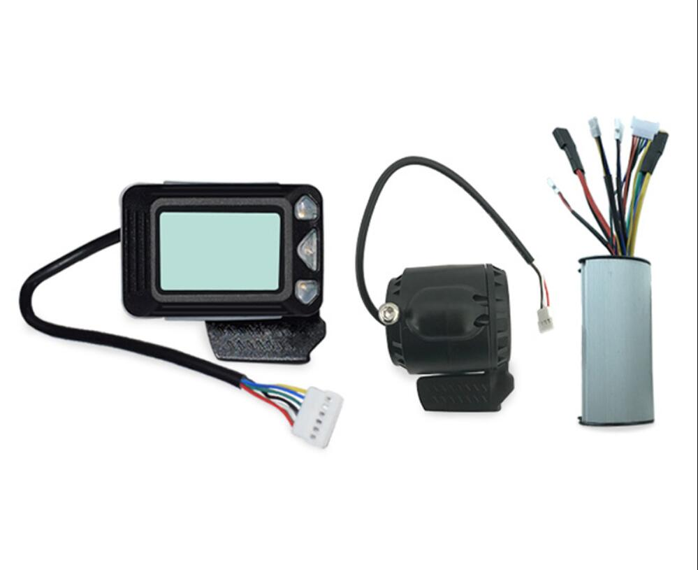 24V 250W Brushless Speed Controller Brake LCD Display for Electric Scooter EBike