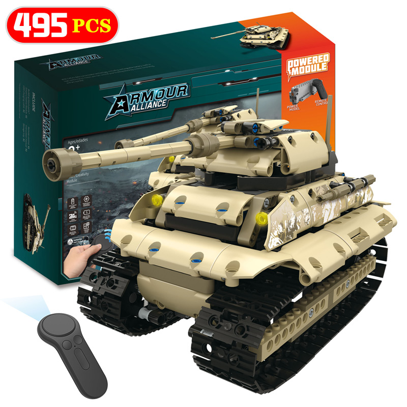 Military Series technology RC Building Blocks Compatible LegoINGLY City Vehicle Tank M1A2 Hummer Model Bricks Toys For Children new century military m1a2 abrams tank cannon deformation hummer cars building blocks bricks figures toys for children