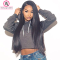 Lace Front Wig 250% Density Full Lace Human Hair Wigs For Black Women 8A Brazilian Silk Straight Hair Lace Front Human Hair Wigs