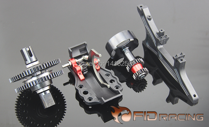 New arrival!!! FID A key to reverse gear system for losi 5ive T with free shipping . fid rear suspension reinforcement bracket for losi 5ive t losi mini wrc free shipping