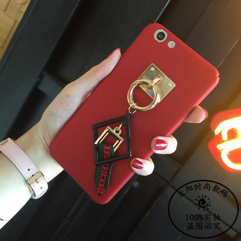 Metal Box Rope Tassel Decorate Tassel Skin Hard Cover Case For meizu meilan 5 5S Note5