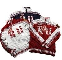 Hohe Qualität Mens Sport Russische Nationalen Team Vorwärts Russland Jacke Männlichen Volle Taschen Mantel Für Männer Sport Radfahren Mäntel-in Rad-Trikots aus Sport und Unterhaltung bei