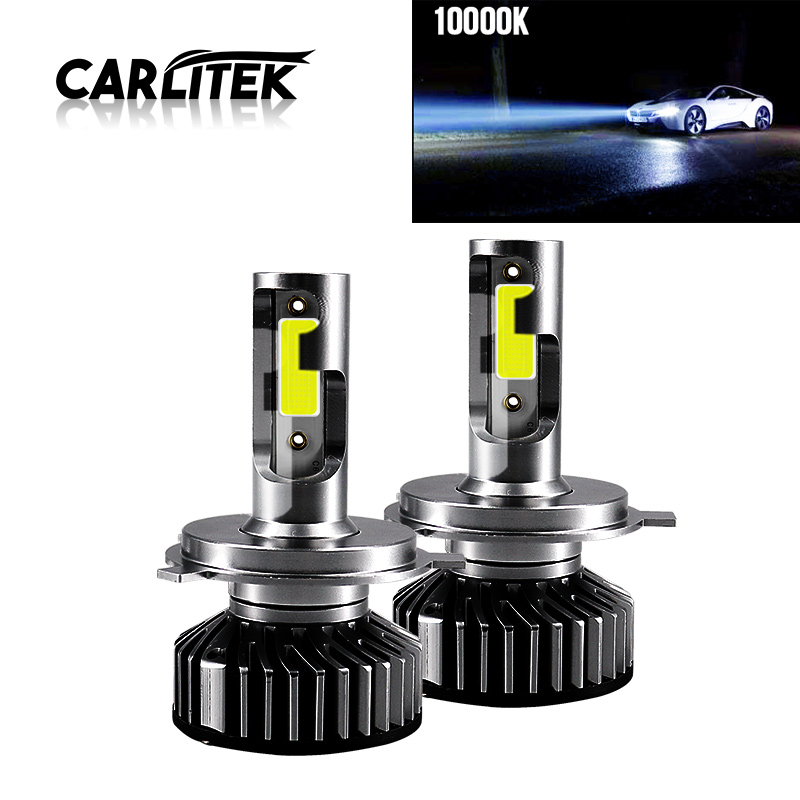 CARLitek Auto Accessories <font><b>Led</b></font> Light H11 H7 <font><b>H4</b></font> Turbo Bulb Car <font><b>Led</b></font> Headlight Lampada <font><b>Led</b></font> 10000LM 50W 12-24V <font><b>10000K</b></font> Deep Blue image