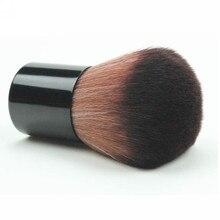 Fashion Professional Kabuki Make Up Kosmetische Gesicht Powder Foundation Blush Pinsel Versenkbare Pulver Pinsel Für Make Up Schönheit Werkzeug