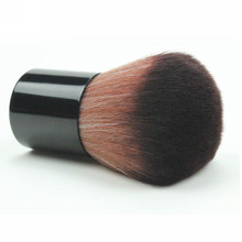 Pincel kabuki para maquiagem, pincéis profissionais retráteis para pó, base, blush, maquiagem e beleza