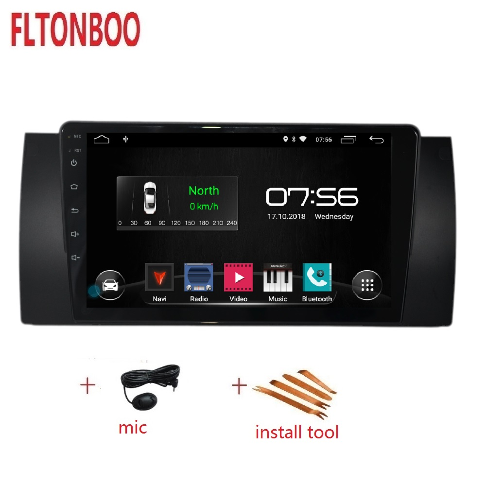 9 inch full touch Android 9 car radio player for  bmw  E39 X5,M5,E53 ,Canbus,bluetooth,steering wheel,16GB  gps navigation9 inch full touch Android 9 car radio player for  bmw  E39 X5,M5,E53 ,Canbus,bluetooth,steering wheel,16GB  gps navigation