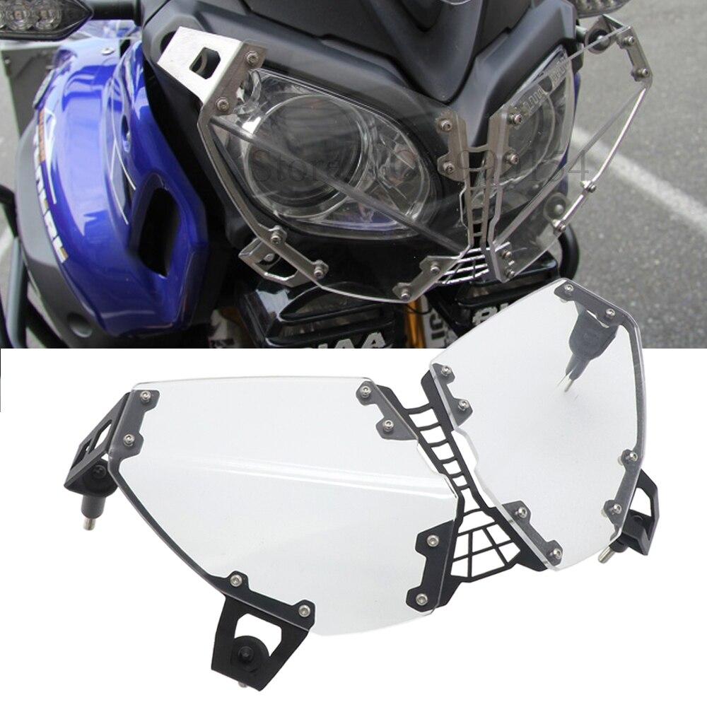 Per YAMAHA XT1200Z 2010-2018 xT1200z Accessori Moto Faro Griglia di Protezione Della Copertura Della Protezione