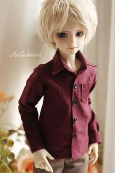 [ Wamami ] 529 # Purpl рубашка / наряд 70 см SD DZ DOD бжд Dollfie кукла