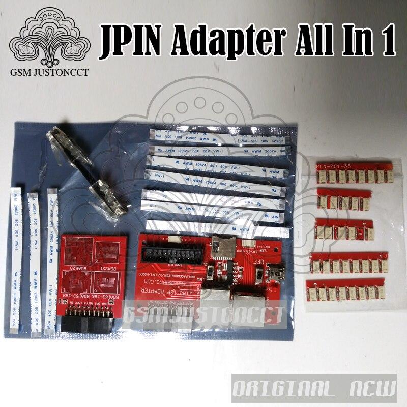 FACILE JPIN 35 EN 1 avec Fai 5 Dans 1 Adaptateur pour RIFF ORT GPG MEDUSA JTAG BOÎTE/Unlock & Flash et Réparation mobile téléphone logiciel