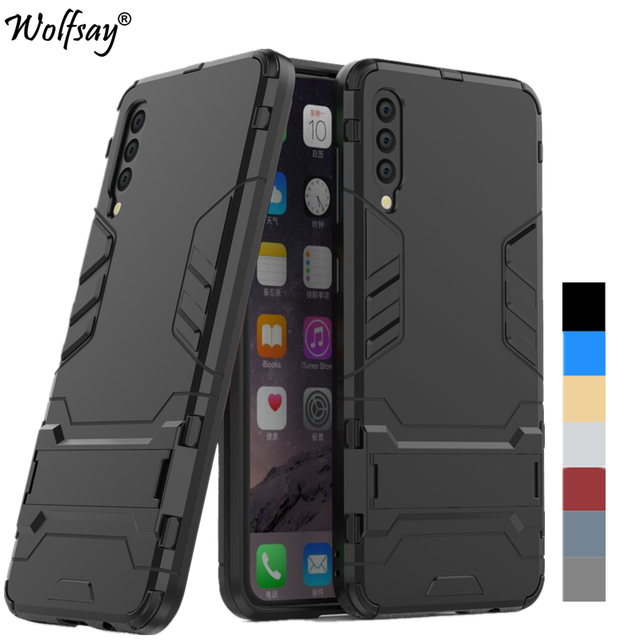 For Cover Samsung Galaxy A50 Case Shockproof Hybrid Armor Phone Case For Samsung Galaxy A50 A505F/DS Cover Case For Samsung A50