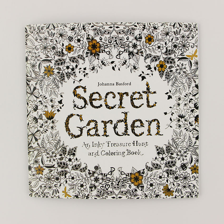 Aliexpress Buy 24 Pages Secret Garden English