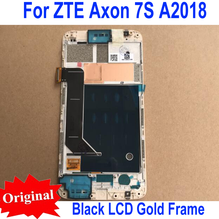 LTPro Original Working 5.5 LCD Display Touch Panel matrix Screen Digitizer Assembly Sensor with Frame For ZTE Axon 7S A2018LTPro Original Working 5.5 LCD Display Touch Panel matrix Screen Digitizer Assembly Sensor with Frame For ZTE Axon 7S A2018