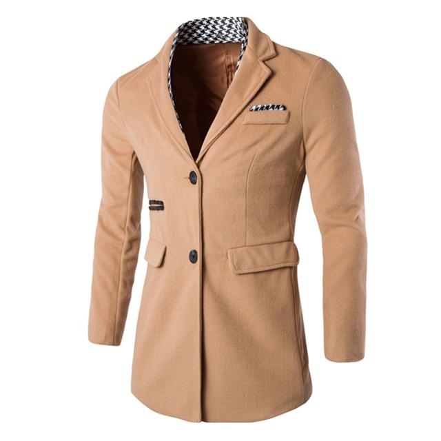 2016 Nueva Llegada Slim Fit Chaqueta de Los Hombres Desmontable Traje Casual Blazers Chaqueta Veste Homme Para Hombre Sólido Jaquetas masculina 13M0447