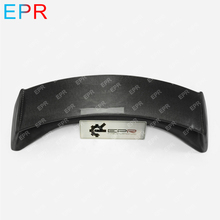 For Nissan 370Z Z34 Carbon Fiber AM Rear Spoiler (With brake lights) Auto Tuning Part Wing(2009 onwards)