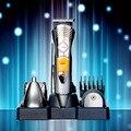 T127 kemei profesional cortadora de cabello recargable barba trimmer para hombres eléctrica máquina de afeitar de corte de pelo trimmer cortador