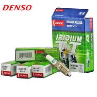 4pcs/lot DENSO Car Spark Plug For Toyota LandCruiser Prado RZJ95R RZJ120R VZJ95R MR2 ZZW30R Spyder double iridium IK16TT