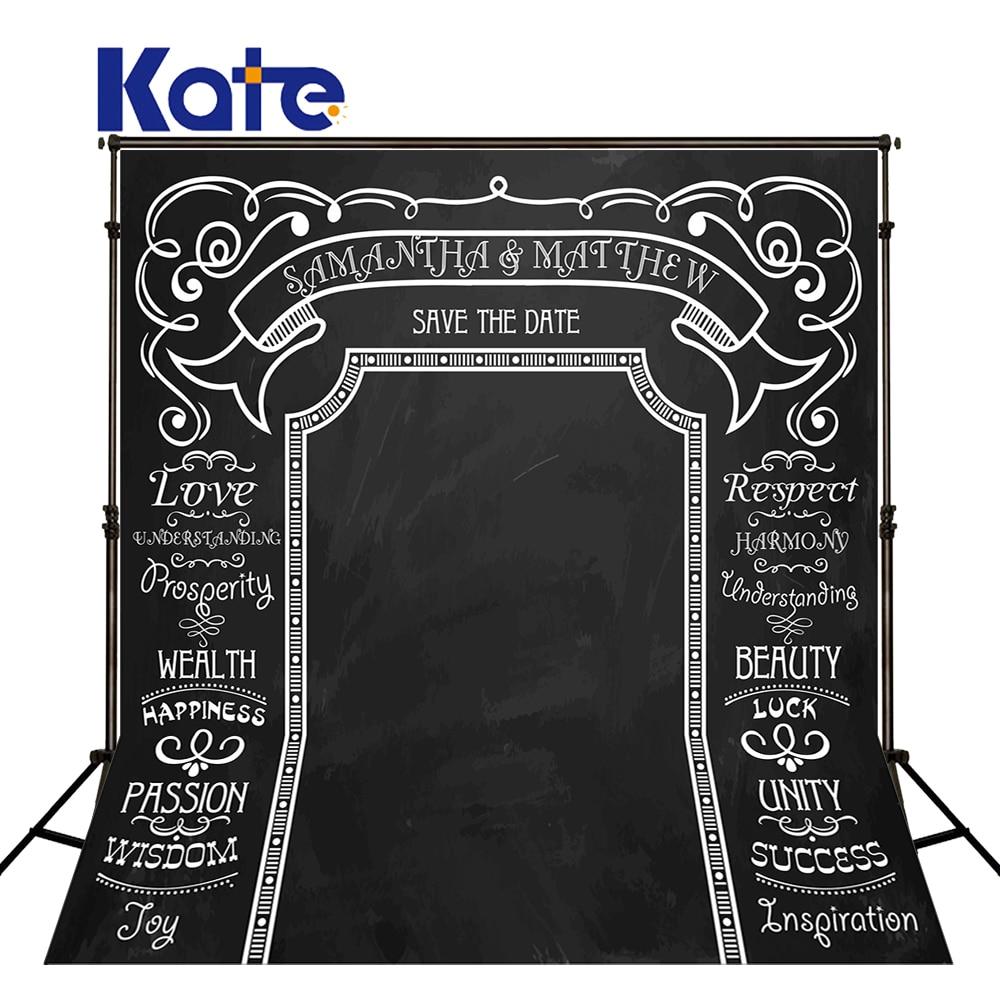 Kate Customize Photo Studio Backdrop Thick Clothe Black Background Custom For Wedding Kate Photographic Studio Background сумка kate spade new york wkru2816 kate spade hanna