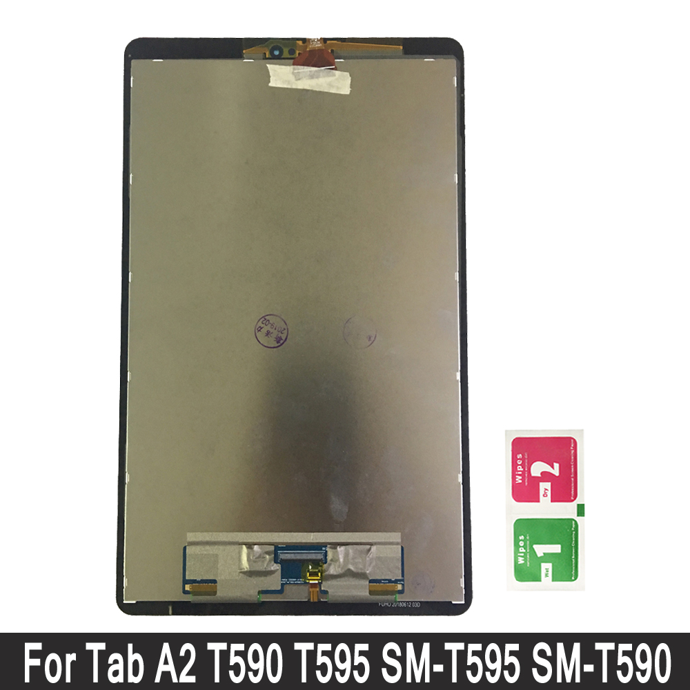 For Samsung Galaxy Tab A2 T590 T595 SM-T590 SM-T595 LCD Display Touch Screen Panel Digitizer Assembly Replacement LCDFor Samsung Galaxy Tab A2 T590 T595 SM-T590 SM-T595 LCD Display Touch Screen Panel Digitizer Assembly Replacement LCD