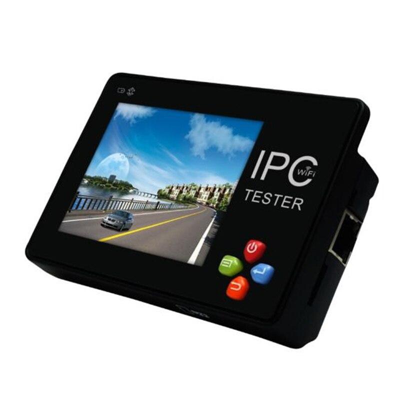 Wrist IPC1600 Plus 3.5 Inch IP CCTV Tester Monitor CVBS Camera ONVIF H.265 4K PTZ WIFI 12V Output IP Analog Network CCTV Camera