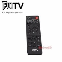 משלוח חינם חדש FUNTV תיבת FUNTV שלט רחוק עבור funtv funvt2 funtv3