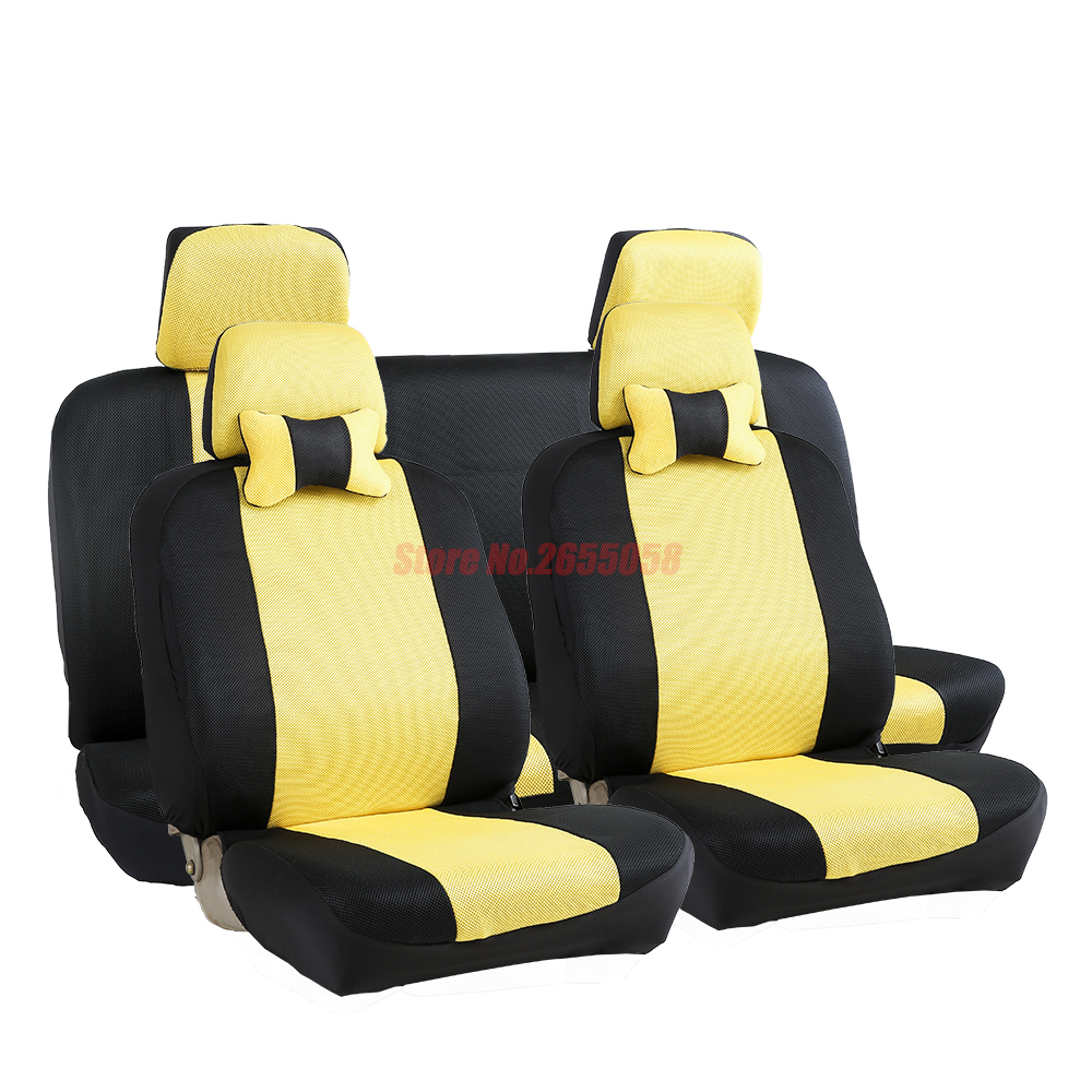 ФОТО (Front+Rear) Universal car seat covers For Lexus RX LX NX EX CT RC IS GS GX460 GX470 GX400 car accessories car styling car cover