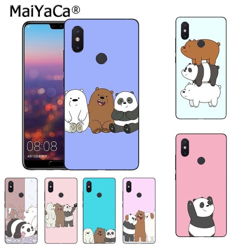MaiYaCa Мы Голые Медведи Цветной Рисование мягкая ТПУ чехол для телефона для xiaomi mi 8se 6 note3 redmi 5 5 плюс Примечание 5 Чехол coque
