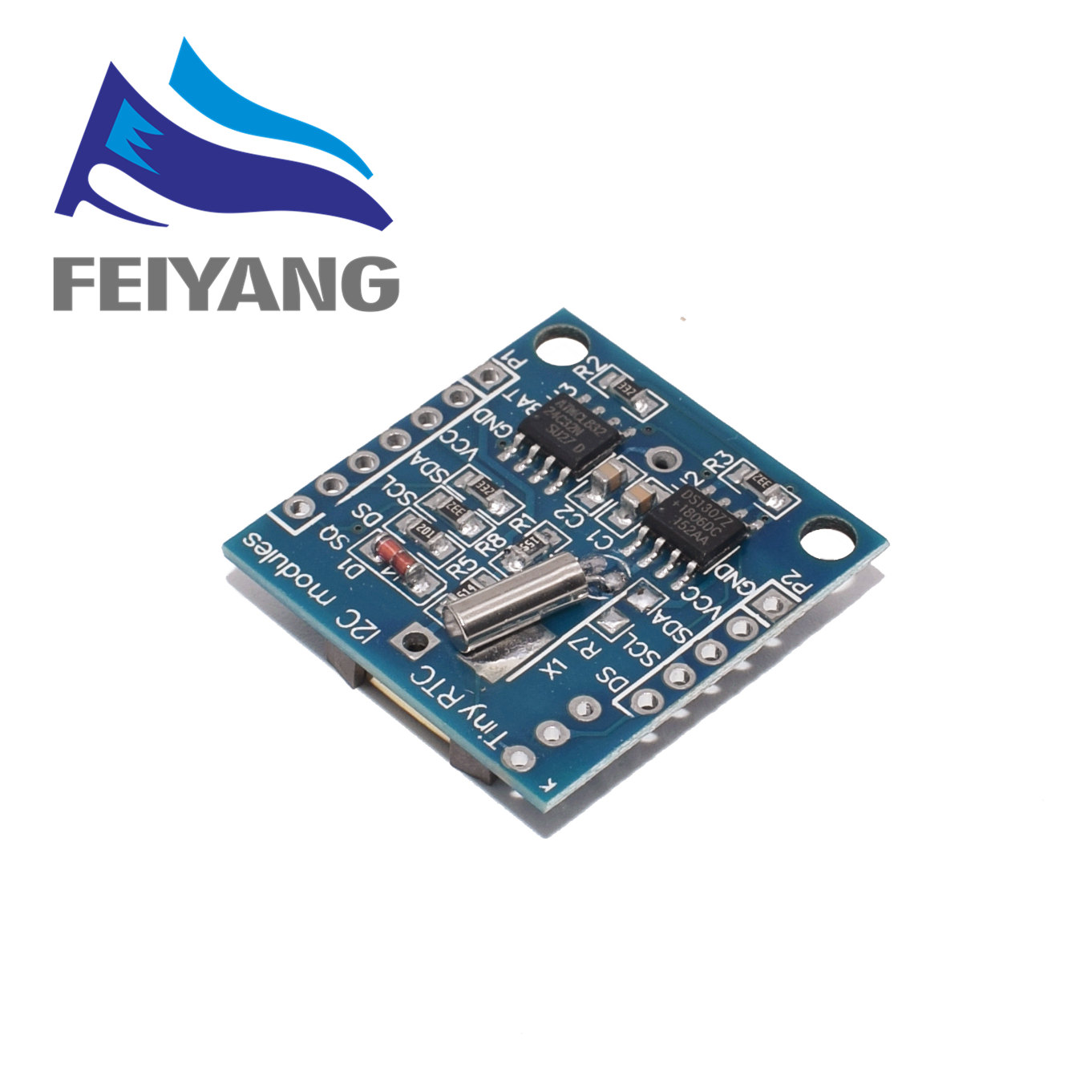 Image 2 - 100PCS New Arrival AT24C32 Real Time Clock RTC I2C DS1307 Module for AVR ARM PIC 51 ARM Promotion-in Integrated Circuits from Electronic Components & Supplies