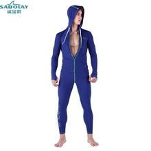 Wetsuit Split Long sleeves zipper Sunscreen Swimsuit Couple Diving swimwear Jellyfish clothing Swimsuit