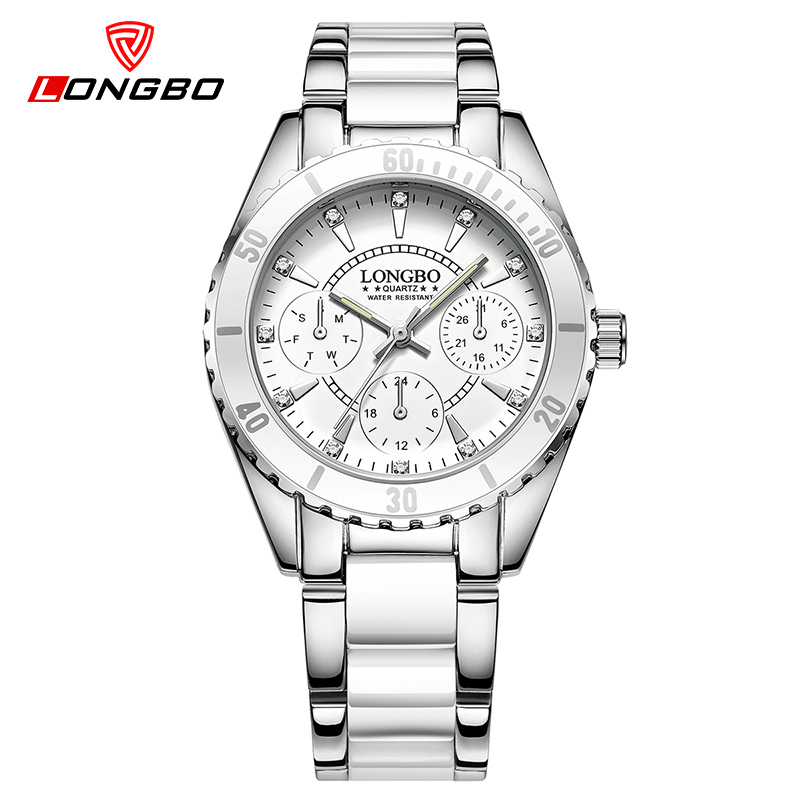 LONGBO Brand Women Watch Ladies Quartz Watches Fashion Wristwatch Casual Relogio Feminino Dropshipping montre femme longbo new fashion watch women luxury stainless steel elegant color dial casual quartz wristwatch ladies clock relogio feminino