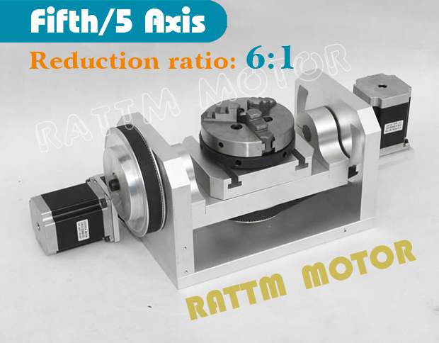 Fifthe 5th Axis CNC dividing head, A axis, rotation fifth axis (with chuck) 3 jaw chuck CNC engraving machine fifthe 5th axis cnc dividing head a axis rotation fifth axis with chuck 3 jaw chuck cnc engraving machine