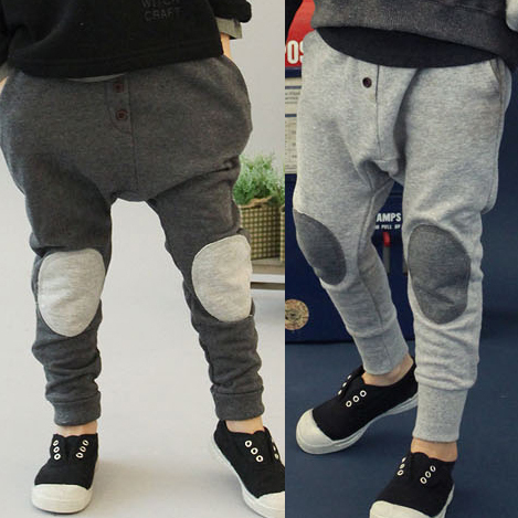 Promotion Best Selling Spring Pants Boy Leisure Trousers Elasticized Cotton Pants,Baby Kid Fall Spring Wear, Free Shipping C0227