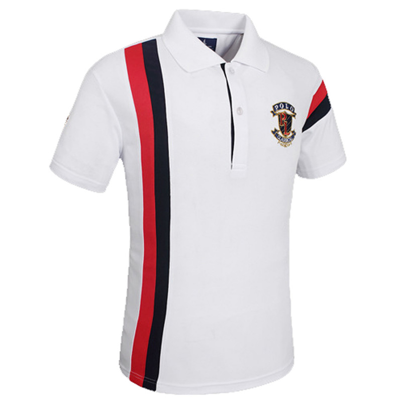 75959f08 Stylish Quick Dry Golf Outdoor Ball Sports Polo T-shirt Breathable Hiking  Camping Embroidery Slim T Shirt Men Short Sleeve Tops