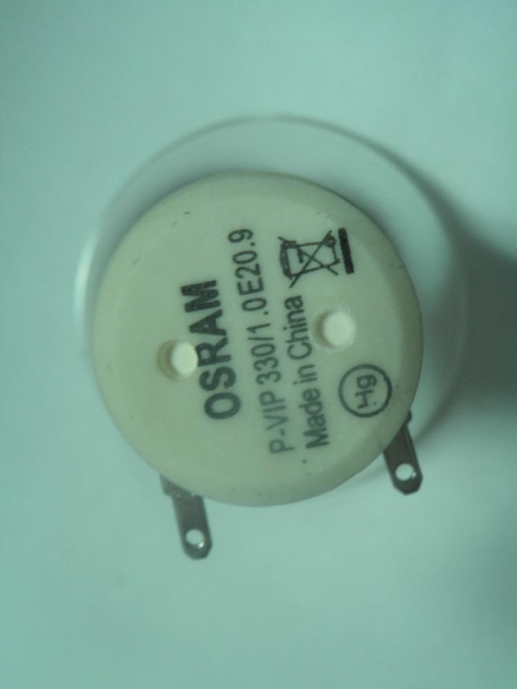 Free Shipping compatible  bare Projector Lamp 5811118452-SVV/P-VIP330/1.0 E20.9 For Vivitek D5010/D5110W/D5190/D5380U