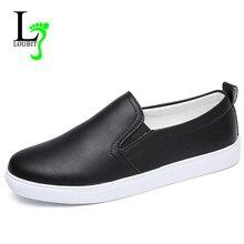 Kadın ayakkabı 2020 yaz daireler ayakkabı üzerinde kayma kadın günlük mokasen ayakkabı nefes ayakkabı PU ayakkabı düz rahat ayakkabılar 41