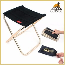Качественное складное кресло для рыбалки, ультра-легкий светильник, портативное складное кресло для кемпинга из алюминиевого сплава для пикника, рыболовное кресло с сумкой