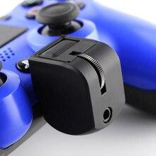 Sem fio bluetooth Controlador Para PS4 VR capacete Adaptador de Fone de Ouvido Controle de Volume & Jogo de Som Profissional Para Conversar