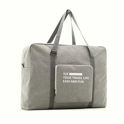 Мужские дорожные сумки, водонепроницаемая нейлоновая складная сумка для ноутбука, вместительная сумка для багажа, дорожные сумки, портативные женские сумки - Цвет: gray2