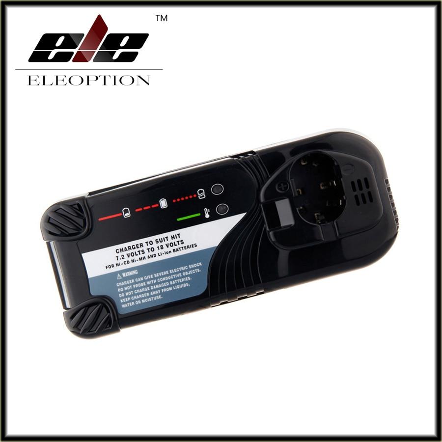 Eleoption Charger for Hitachi 7.2V-18V Ni-CD Ni-MH and Li-ion Power Tool Battery,UC7SB,UC9SD,UC14SD,UC14YFA,UC18YG