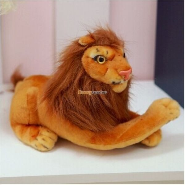 Fancytrader Rare Item! 49\'\' 125cm Emulational Plush Jumbo Soft Stuffed The Lion King Simba, Free Shipping FT50176 (7)