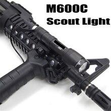 Softair M600C тактический флэш-светильник светодиодный Скаут светильник Lanterna страйкбол Arma военный пистолет лампа оружие, винтовка охотничий светильник