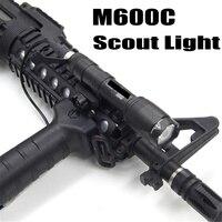 Softair M600C тактический фонарь светодиодный Скаут свет Lanterna страйкбол Arma военный пистолет лампа оружие, винтовка для охоты