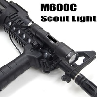 Softair M600C Tactical Flashlight LED Scout Light Lanterna Airsoft Arma Military Gun Lamp Weapon Rifle Hunting Light