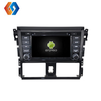 Car GPS Navigation For TOYOTA YARIS 2014 With 7 inch IPS Touch Screen Bulit in DVD Bluetooth WiFi Mirror Link Android 9.0 System