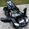 1 32 Koenigsegg Diecast Car Model Collection Four Door With Light And Sound Black