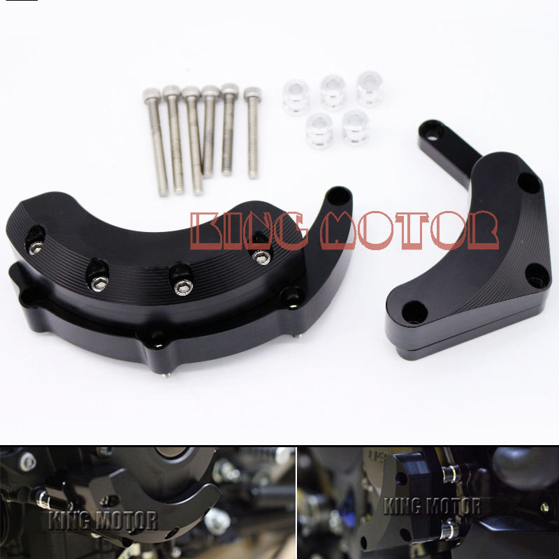 For YAMAHA MT09 FZ09 FZ-09 MT-09 Tracer 2014-2016 Motorcycle Accessories Engine Protector Guard Cover Frame Slider rotary encoder zsp6210 001g 30bz1 12 24f zsp6210 001g 360bz3 7 24c zsp6210 001g 600bz1 12 24f zsp6210 001g 1024bz3 05l