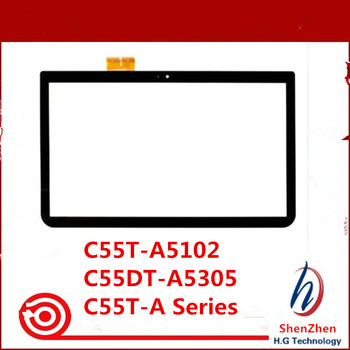 """Original 15.6"""" Touch Screen Glass Digitizer For Toshiba Satellite C55T-A5102 C55DT-A5305 , C55T-A Series"""