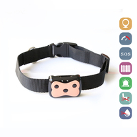 Cats Dogs Pet Waterproof GPS Tracker Long Standby D69 Free Web Page APP Real time Tracking Device LBS Locator with LED Indicator